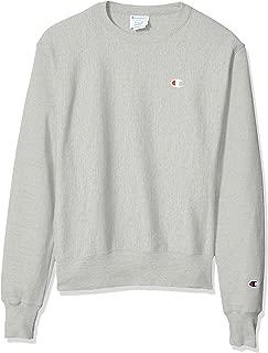 Champion LIFE Men's Reverse Weave Sweatshirt, Oxford Gray, Medium
