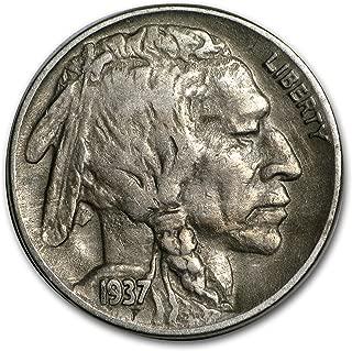 1937 D 3-Legged Buffalo Nickel XF Nickel Extremely Fine