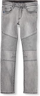 IKKS Junior Jean Denim Biker Light Grey Jeans para Niños