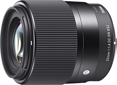 Sigma 4302965 30mm f/1.4 DC DN Contemporary Lens for Sony (E-Mount), Black