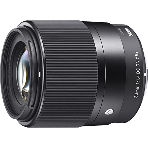 Sigma 30 mm f/1.4 DC DN Contemporary Lens for Sony E-Mount