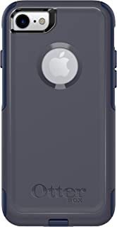 OtterBox COMMUTER SERIES Case for iPhone SE (2nd gen - 2020) and iPhone 8/7 (NOT PLUS) - Retail Packaging - INDIGO WAY (MARITIME BLUE/ADMIRAL BLUE), Single