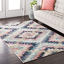 Blue And Pink Rug