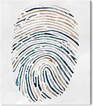 god's fingerprint print