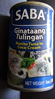 Saba Ginataang Tulingan Pacific Bonito Tuna in Coconut Cream - 155 gm