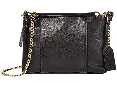 SOLE / SOCIETY Fayth Crossbody (Black) Handbags