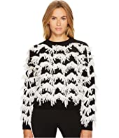 Stagno Textured Zigzag Sweater