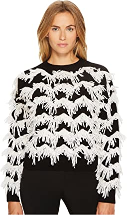 Sportmax - Stagno Textured Zigzag Sweater