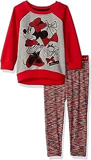 Disney - Juego de Camisetas de Minnie para niña (2 Piezas)