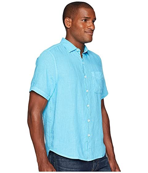 de Camp Blue manga Tommy corta camiseta Party Pool Seaspray Breezer Bahama vwqnExp0T
