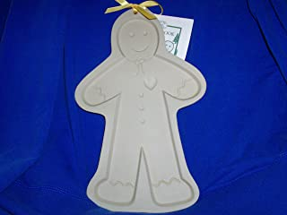 1997 Brown Bag Cookie Art Mold - Giant 11.5