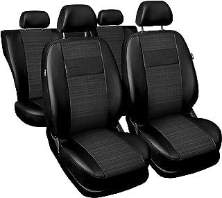 anno fabbricazione 2011 Coprisedili Tailor compatibile Tessuto-Nero VW Up