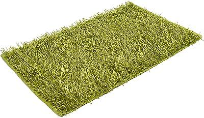 Gözze Shaggy 1012-80-74 Deep-Pile Rug 60 x 100 cm Ökotex Metallic Green