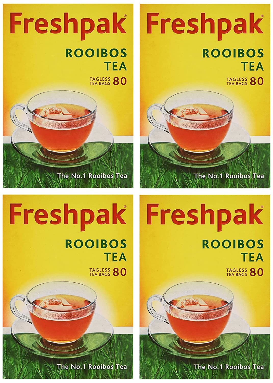 Freshpak Pure Rooibos Tea 80 Tagless Bags 10 X SET Popular standard Pack Fashion - 4