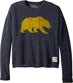The Original Retro Brand Kids - Cal Bear Haaci Pullover Sweatshirt (Big Kids)