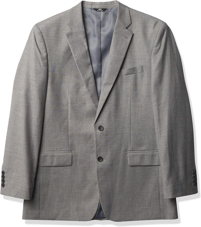 J.M. Haggar Men's Premium Check Classic Fit Suit Separate Coat