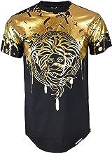 Screenshotbrand Mens Hipster Hip-Hop Ultra Premiun Tees - Stylish Longline Latest Technique Fashion Print T-Shirts