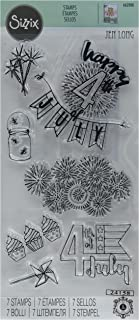 Sizzix 662008 Clear Stamps, Fireworks & Sparklers