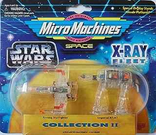 Barbie Star Wars 2 Micro Machines X-Ray Fleet Collection II