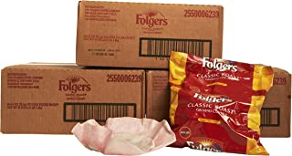 Folgers Classic Roast Filter Packs, Premeasured Ground Coffee and Filter in a Single Pouch, 3 Boxes 120 Count