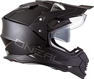 "O""NEAL Sierra II Adventure Enduro MX Motorrad Helm Flat schwarz 2020 Oneal: Größe: L 59-60cm"