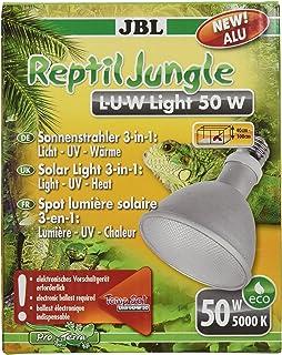 JBL de Ancho Foco para Lluvia Bosque terrarios, Aluminio, E 27, Reptil Jungle L de U de W