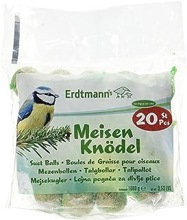 Erdtmanns Boule de Graisse pour Oiseaux 20 Pièces