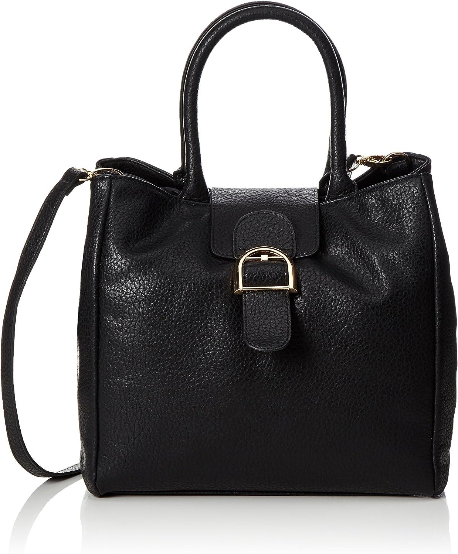 PIECES Pcluna Bag, Women's Handbag, black (Black), 19 x 29 29 cm (wxhxd)