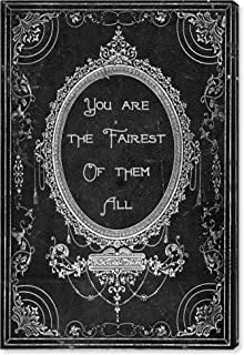 The Oliver Gal Artist Co. Typography and Quotes Wall Prints 'The Fairest' Canvas Art, 10