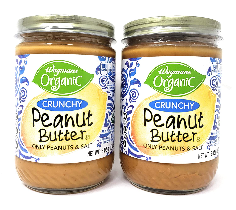 Wegman Max 42% OFF Organic Crunchy Peanut quality assurance Butter 32oz 2 Pack of Total