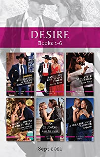 Desire Box Set Sept 2021/Bidding On A Texan/Rancher's Christmas Storm/Just A Little Married/What Happens At Christmas/The ...