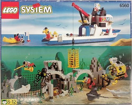 LEGO System Tauchen 6560 Schatzsucher der 7 Weltmeere