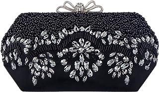 Bagood Women's Acrylic Beaded And Sequined Evening Bag Wedding Party Handbag Clutch Purse