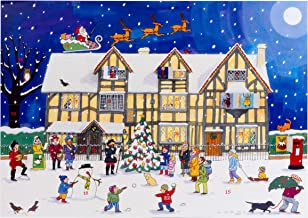 Alison Gardiner 'Christmas at The Old Town House' Large Traditional Advent Calendar