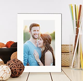 Art Street Synthetic Wall/Table Photo Frame with Stand (4 inches X 6 inches, White)