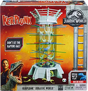 Jurassic World Klerplunk Raptors Game