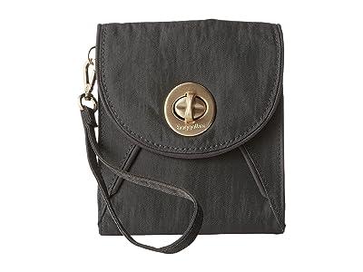 Baggallini Gold Athens RFID Crossbody Wallet (Charcoal) Cross Body Handbags
