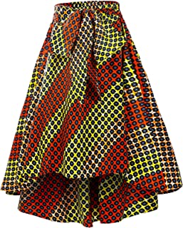 Women African Print Skirt Ankara Print Clothing