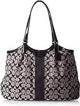 Coach Devin Signature Stripe Women's Tote Handbag Bag 28503