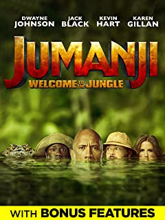 Jumanji: Welcome To The Jungle (Plus Bonus Content)