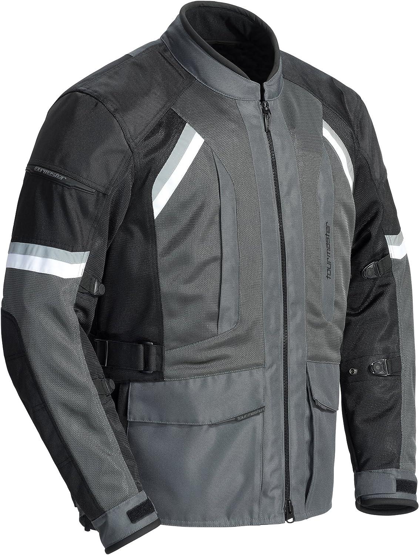 Black//Gun, Large TourMaster Mens Sonora Air 2.0 Jacket