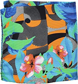Eton - Tropical Pocket Square