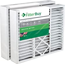 FilterBuy 20x25x5 Honeywell FC100A1037 Compatible Pleated AC Furnace Air Filters (MERV 8, AFB Silver). Replaces Honeywell 203720, FC35A1027, FC100A1037, FC200E1037, Carrier FILXXCAR-0020. 2 Pack.