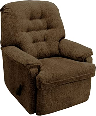 Enjoyable Amazon Com Thick Padded Recliner Chair Fabric Living Room Cjindustries Chair Design For Home Cjindustriesco