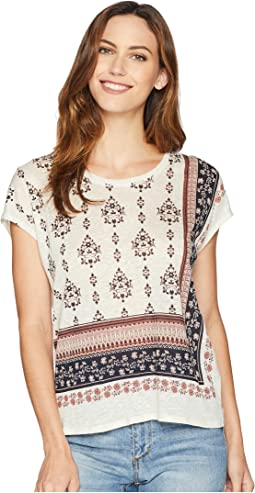 Tile Wallflower Printed Dolman Top