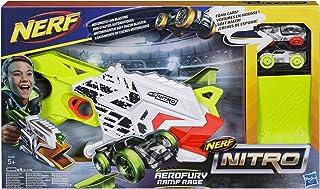 Hasbro Nerf Nitro Aerofury Ramp Rage Car Track Set for 5 Years and Above, Multi-Colour, E0408EU4