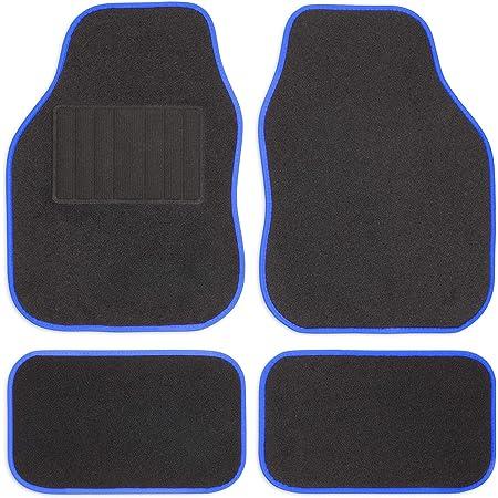 Safe Travel 27651 Universal Automatten Set Für Linkslenker Geschweißter Ferseneinsatz Blaue Einfassung Auto