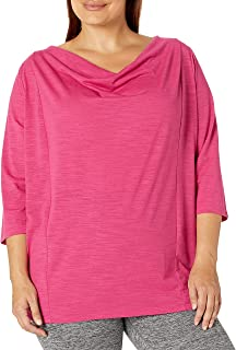 Fruit Of The Loom Women's Active Drapey Tunic Tee Shirt