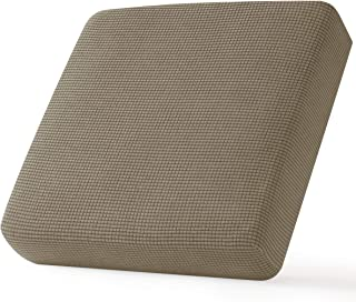 Best CHUN YI Stretch Chair Couch Cushion Cover Suitable for Armchair, Sofa Seat Slipcover Replacement with Spandex Jacquard Fabric, Small, Sand Review