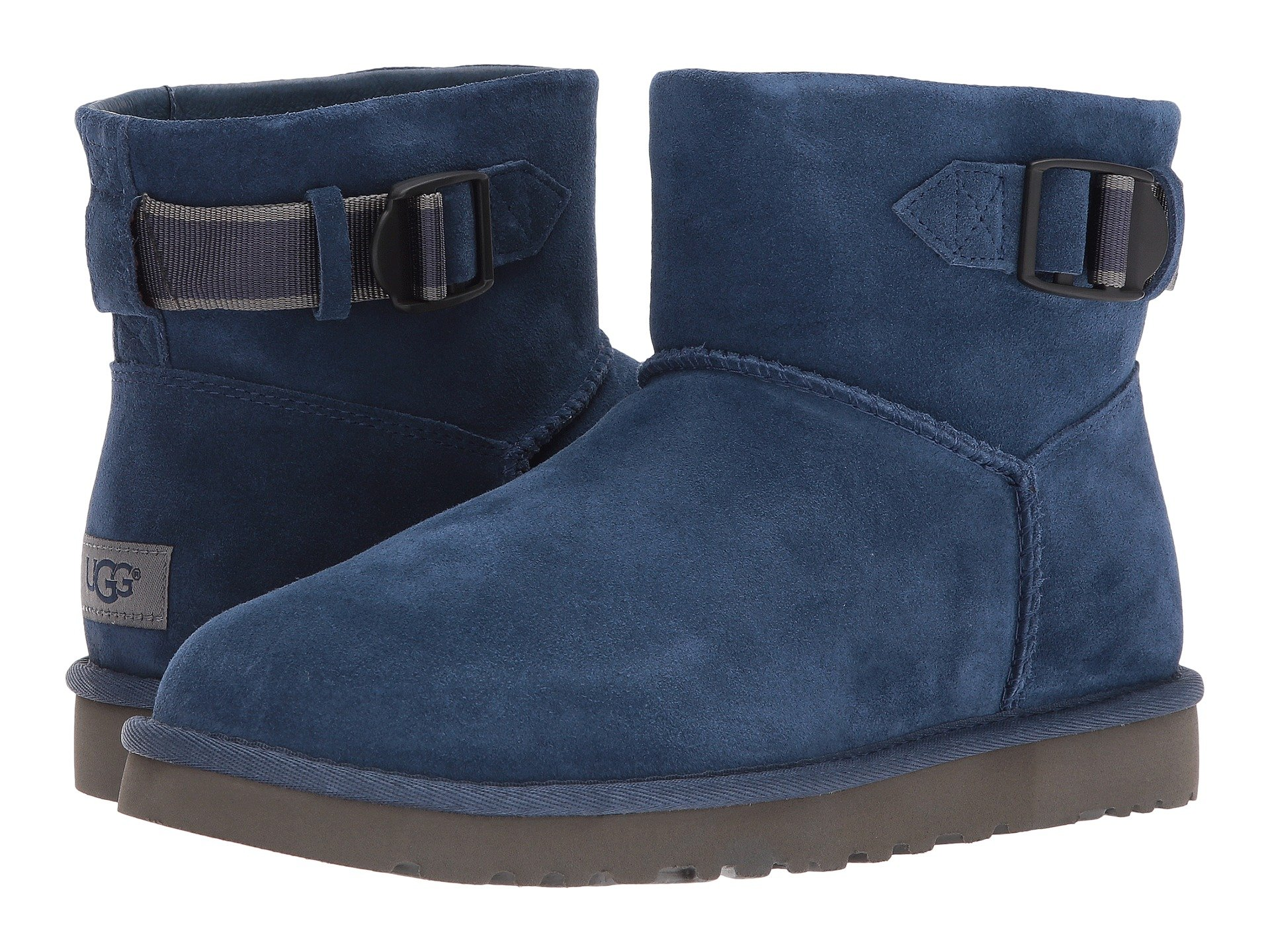 UGG Classic Mini Strap (New Navy) Men's Boots